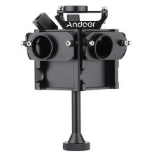 Andoer Action Camera Accessories Aerial FPV 360 Degree VR Full Shot Panorama Panoramic Imaging Photography Video Capture Bracket Cage Monopod for Gopro Hero 3 / 3+ / 4