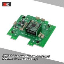 Original XK X380-015 Main Controller Board & Power Distribution Strip for XK X380 RC Quadcopter