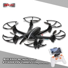 MJX X800 2.4G 6 Axis Gyro One Key 3D Roll Gravity Sensor RC Hexacopter with MJX C4005 FPV Real-time Aerial Camera Components