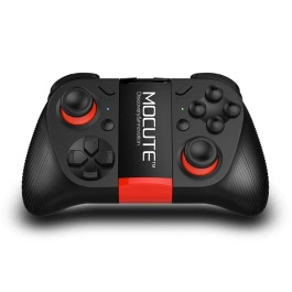 Original MOCUTE 050 Bluetooth Gamepad Android Joystick Mini Portable Wireless Bluetooth 3.0 Controller Selfie Remote Controll Shutter Gamepad for iOS Andriod Smartphones PC Smart TV Box
