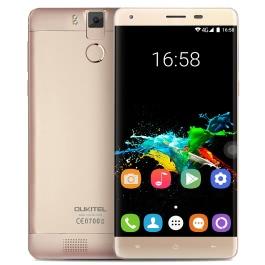 OUKITEL K6000 Pro 4G  MTK6753 64-bit Octa Core Smartphone 5.5″ 2.5D FHD 1920 * 1080 Pixels Screen Android 6.0 3GB RAM+32GB ROM 8MP+16MP Dual Cameras Alloy Frame 0.3s Fingerprint OTG