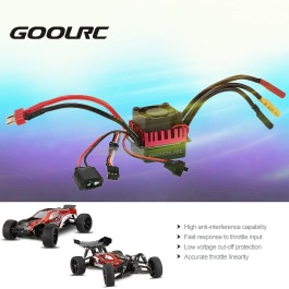 Original GoolRC S-60A Brushless ESC Electric Speed Controller with 5.8V/3A BEC for 1/10 RC Car