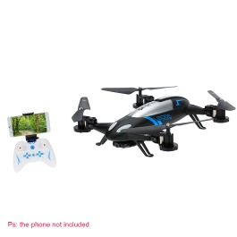 Lishitoys L6055 2.4G 4CH 6-Axis Gyro Wifi FPV RC Quadcopter Air-Ground Flying Car with 0.3MP Camera