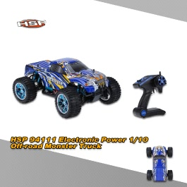 Original HSP 94111 2.4Ghz 2CH Transmitter Electronic Powered 3300KV Brushless Motor 1/10 RTR 4WD Off-road Monster RC Car