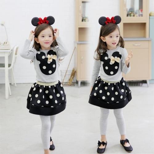 Baby Girls Long Sleeve Cute Animal Pattern Tops T-shirt and Skirt SetDresses<br>Baby Girls Long Sleeve Cute Animal Pattern Tops T-shirt and Skirt Set<br><br>Blade Length: 0.0cm