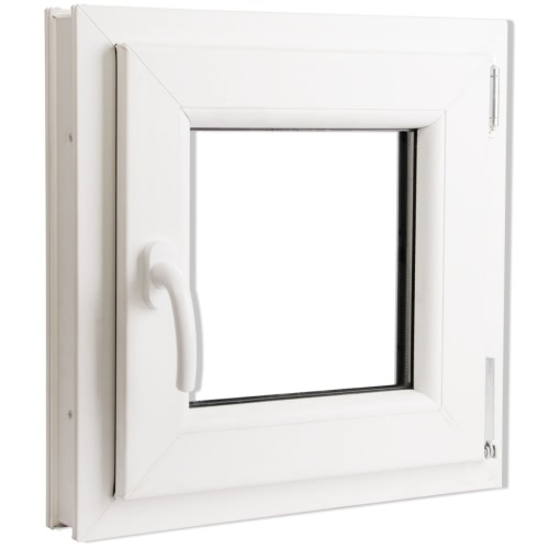 2 Fach Verglast Drehkippfenster PVC linksseitig Griff 500x500mmIndoor furniture<br>2 Fach Verglast Drehkippfenster PVC linksseitig Griff 500x500mm<br><br>Blade Length: 1.0cm