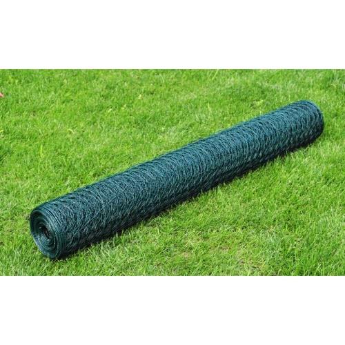 Hexagonal Wire Netting 75cm x 25 m PVC-coatedv Thickness 0,8 mmPatio Seating<br>Hexagonal Wire Netting 75cm x 25 m PVC-coatedv Thickness 0,8 mm<br><br>Blade Length: 1.0cm
