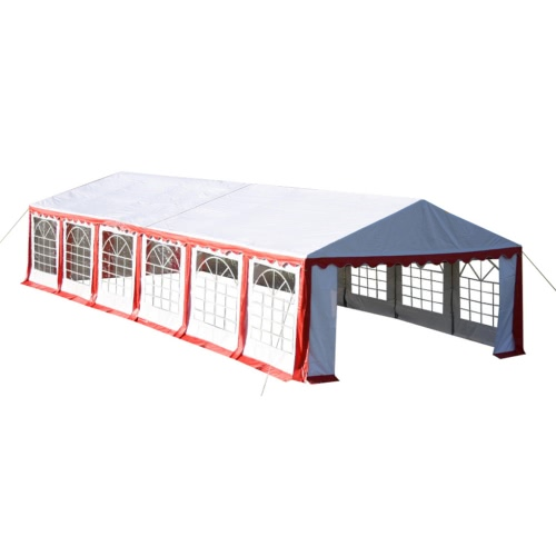 Party Tent 12 x 6 m. Red