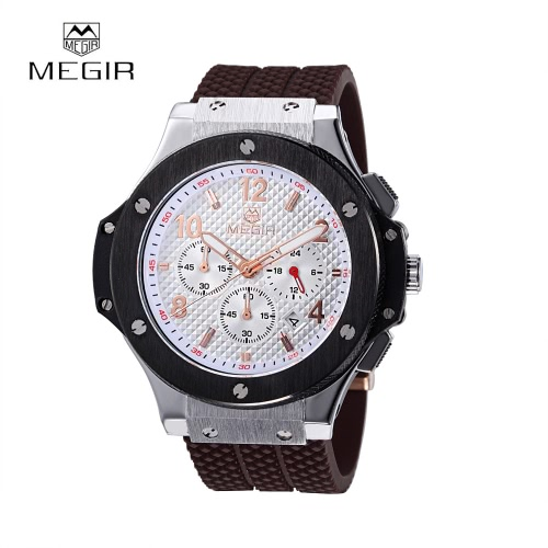MEGIR Fashion Brand Army Watches Silicone Military Quartz Men Sport Watch Waterproof 24 Hours Calendar WristwatchQuartz Watches<br>MEGIR Fashion Brand Army Watches Silicone Military Quartz Men Sport Watch Waterproof 24 Hours Calendar Wristwatch<br><br>Blade Length: 25.0cm