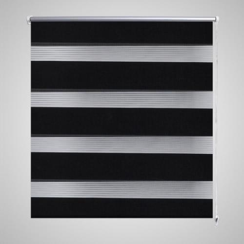 Zebra Blind 120 x 230 cm BlackHome Textile<br>Zebra Blind 120 x 230 cm Black<br><br>Blade Length: 1.0cm