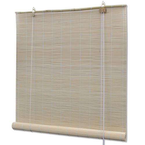 Natural Bamboo Roller Blind 120 x 220 cmHome Textile<br>Natural Bamboo Roller Blind 120 x 220 cm<br><br>Blade Length: 1.0cm