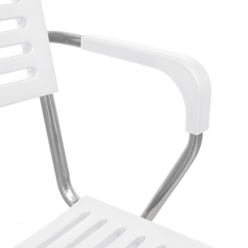 White Stackable Arm Chair 24 pcsIndoor furniture<br>White Stackable Arm Chair 24 pcs<br><br>Blade Length: 1.0cm