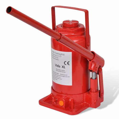 210259 Hydraulic Bottle Jack 20 Ton Red Car Lift Automotive