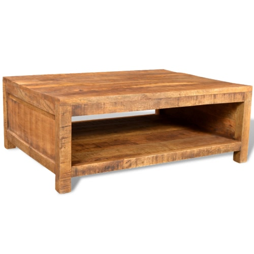 Antique-style Mango Wood Coffee TableTables<br>Antique-style Mango Wood Coffee Table<br><br>Blade Length: 1.0cm