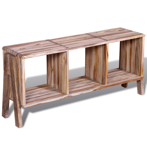 TV Cabinet with 3 Shelves Stackable Reclaimed TeakIndoor furniture<br>TV Cabinet with 3 Shelves Stackable Reclaimed Teak<br><br>Blade Length: 1.0cm