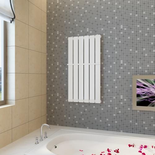 Buy Heating Panel Towel Rack 465mm + White 465 mm x 900