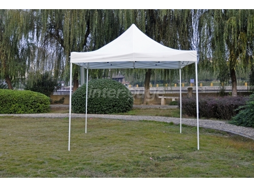 Folding Tent 3x3m Polyester 180g/m2 Blue
