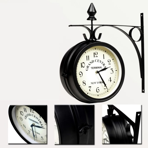 Wall ClockHome Textile<br>Wall Clock<br><br>Blade Length: 1.0cm