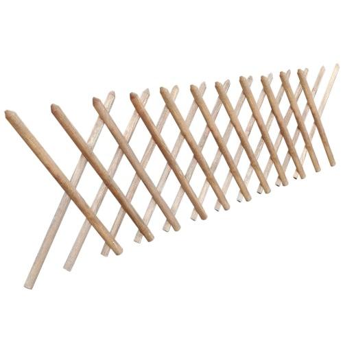 Valla enrejada expandible de madera impregnada 250 x 80 cmPatio Seating<br>Valla enrejada expandible de madera impregnada 250 x 80 cm<br><br>Blade Length: 1.0cm