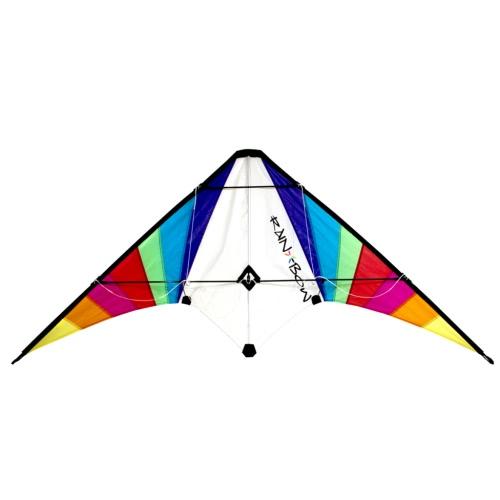 RHOMBUS Rainbow Design Stunt Kite 150 x