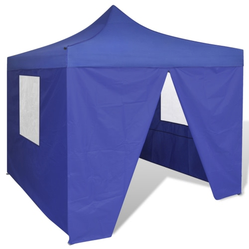 Blue Foldable Tent 3 x 3 m with 4 WallsTents<br>Blue Foldable Tent 3 x 3 m with 4 Walls<br><br>Blade Length: 1.0cm