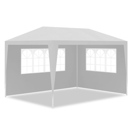 White Party Tent with 4 Walls 3