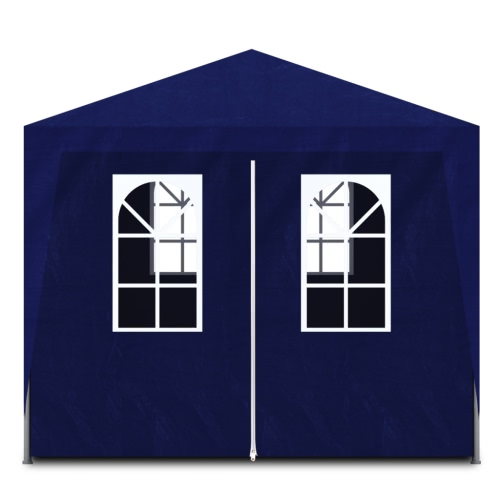 Blue Party Tent with 6 Walls 3