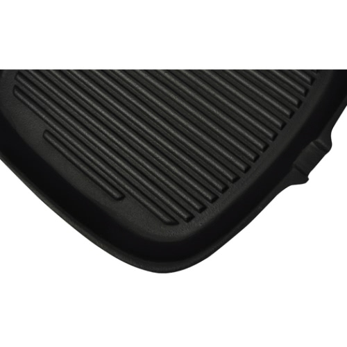 Cast Iron Grill Pan Frying Pan SquareCooking Tools<br>Cast Iron Grill Pan Frying Pan Square<br><br>Blade Length: 1.0cm