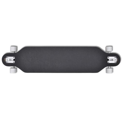 Longboard Skateboard Star 107 cm 9 strati in acero 22,5 cm truck bluOthers<br>Longboard Skateboard Star 107 cm 9 strati in acero 22,5 cm truck blu<br><br>Blade Length: 1.0cm