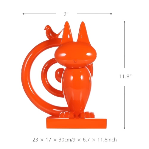 Tomfeel Hide-and-seek Resin Sculpture Home Decor Modern Art Figurine Animal Statue FiberglassCeramics Crafts<br>Tomfeel Hide-and-seek Resin Sculpture Home Decor Modern Art Figurine Animal Statue Fiberglass<br><br>Blade Length: 35.0cm