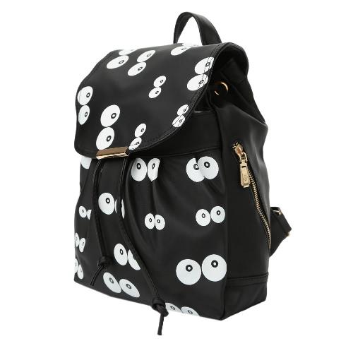 New Women PU Leather Backpack School Bag