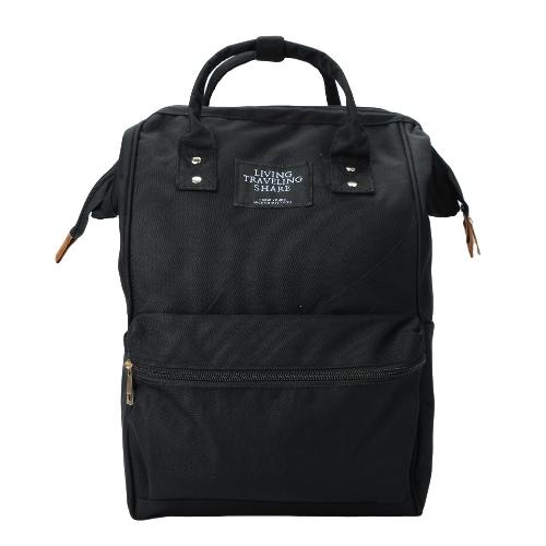 Buy Fashion Unisex Men Women Backpack Large Capacity Cool Student Canvas Schoolbag Laptop Travel Bag Handbag