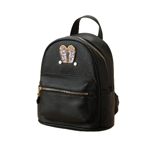 New Fashion Women Backpack PU Leather Sequin