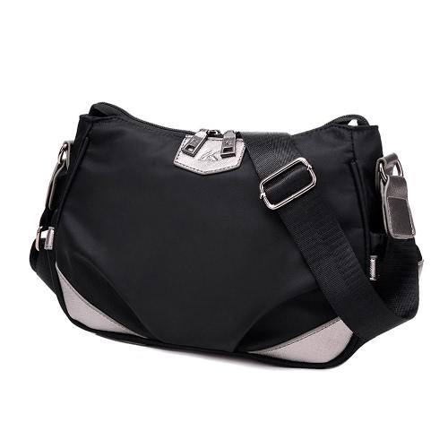 Buy Women Crossbody Bag Waterproof Contrast Casual Messenger Outdoor Shoulder