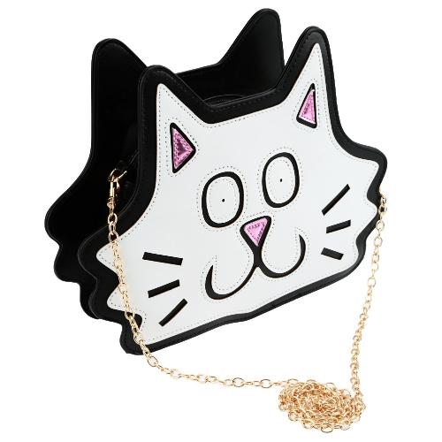 Cute Fashion Women Shoulder Bag Cat Shape
