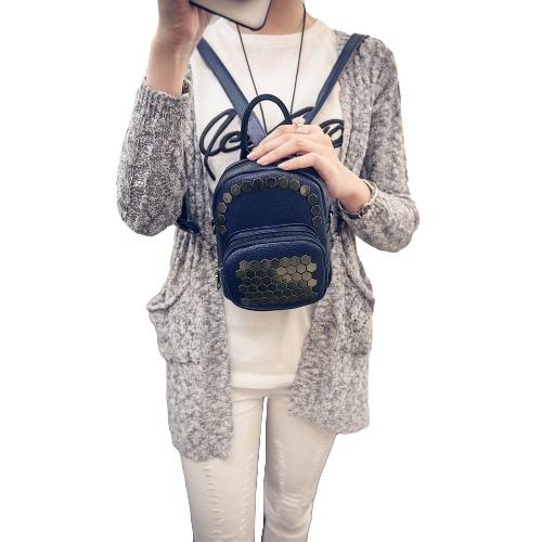 New Fashion Girls Women Small Backpack PU