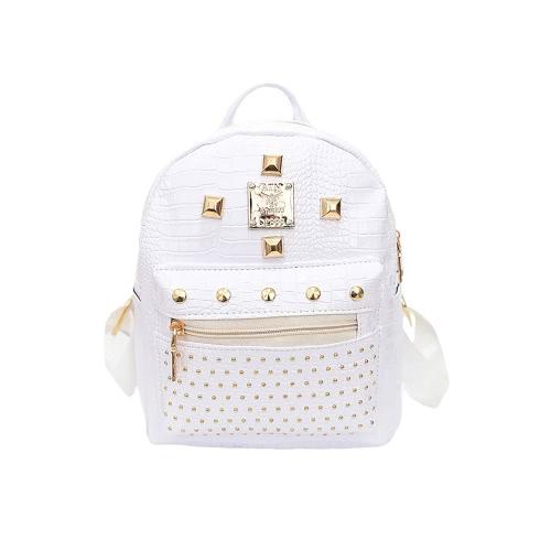 New Fashion Girls Women Backpack PU Leather