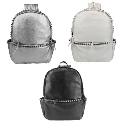 Fashion Women Backpack Soft Washing PU Leather