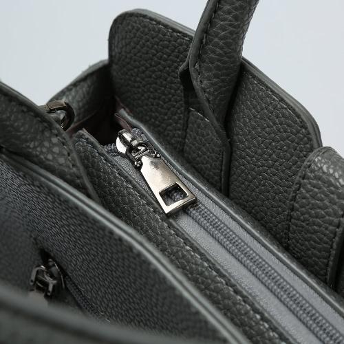 Fashion Women PU Leather Handbag Chain Front Adjustable Strap Zipper Tote Bag Crossbody Shoulder BagFashion Women PU Leather Handbag Chain Front Adjustable Strap Zipper Tote Bag Crossbody Shoulder Bag<br><br>Blade Length: 40.0cm