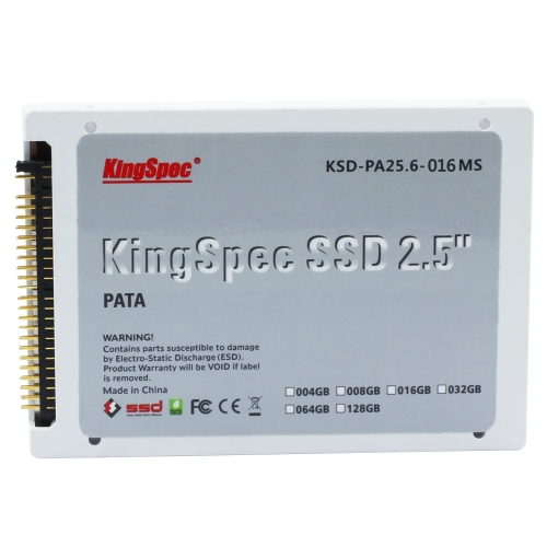 KingSpec PATA(IDE) 2.5 2.5 Inches 8GB MLC Digital SSD Solid State Drive for PCSSDs<br>KingSpec PATA(IDE) 2.5 2.5 Inches 8GB MLC Digital SSD Solid State Drive for PC<br><br>Blade Length: 17.0cm