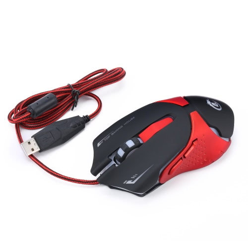 Ergonomic Optical Professional Esport Gaming Mouse Mice Adjustable 3200 DPI Breathing LED Light 6 Buttons USB Wired for Mac Laptop PC ComputerMice<br>Ergonomic Optical Professional Esport Gaming Mouse Mice Adjustable 3200 DPI Breathing LED Light 6 Buttons USB Wired for Mac Laptop PC Computer<br><br>Blade Length: 13.5cm
