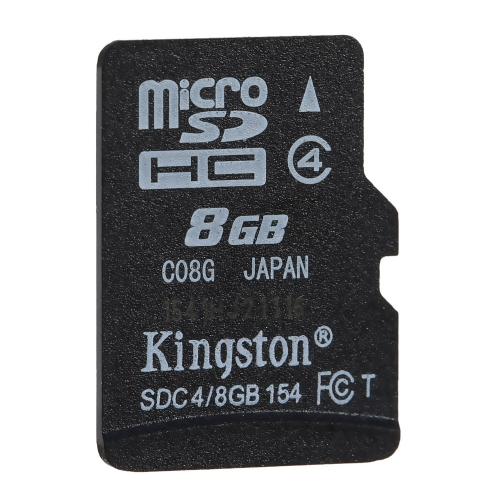 Kingston Class 4 8G 16GB MicroSDHC TF Flash Memory Card 4MB/s Speed C2677-8
