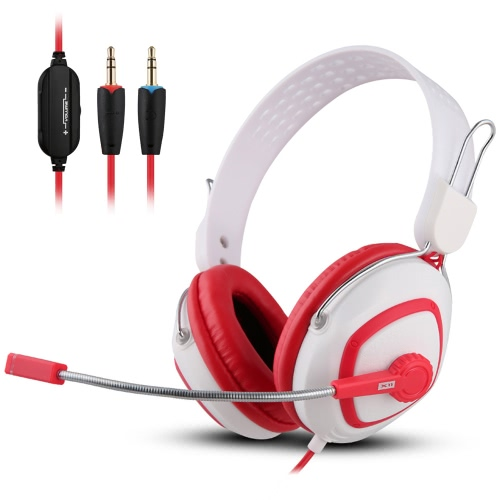 Ovann X11 Professional Esport Gaming Stereo Bass Headset Headphone Earphone Over Ear 3.5mm Wired with Microphone for PC Computer Laptop C3108