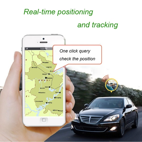 Portable Real-time Spy Car Vehicle Motorcycle GSM GPRS Location Based Service Monitor Tracker Locator Anti-theft Tracking Geo-fence