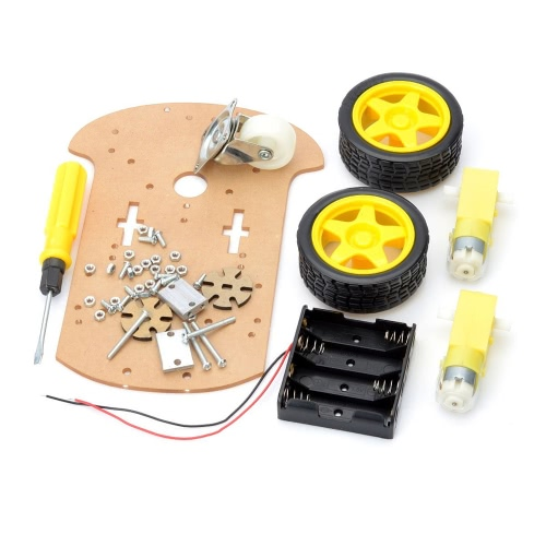 Buy Smart Robot Car Chassis Kit Arduino (Works Official Boards)