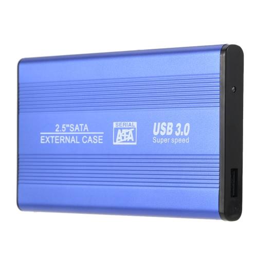Portable Superspeed USB 3.0 HDD SSD SATA External Aluminum 2.5 Hard Drive Disk Box Enclosure Case up to 1TBPortable Disk &amp; Enclosures<br>Portable Superspeed USB 3.0 HDD SSD SATA External Aluminum 2.5 Hard Drive Disk Box Enclosure Case up to 1TB<br><br>Blade Length: 20.0cm