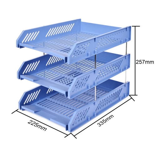 Comix B2060 Office Desktop File Tray Holder Document Letter Organizer 3 TierOther<br>Comix B2060 Office Desktop File Tray Holder Document Letter Organizer 3 Tier<br><br>Blade Length: 34.0cm