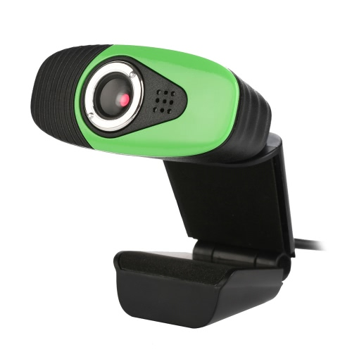 Buy USB2.0 Webcam Clip-on Camera HD 12 Megapixels Built-in Sound Absorption Microphone Stand Computer PC Laptop
