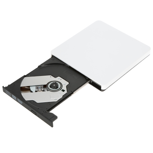 USB3.0 External SATA Optical Drive Portable DVD-RW DVD/CD/VCD Player Burner Recorder C2683-2W