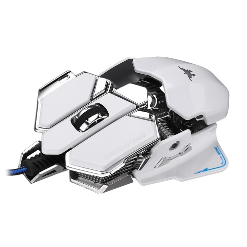 Combaterwing 4800 DPI Optical USB Wired Professional Esport Gaming Mouse Programmable 10 Buttons RGB Breathing LED MiceMice<br>Combaterwing 4800 DPI Optical USB Wired Professional Esport Gaming Mouse Programmable 10 Buttons RGB Breathing LED Mice<br><br>Blade Length: 13.5cm
